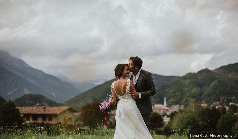 Il matrimonio di Carlo e Viviam a Clusone, Bergamo
