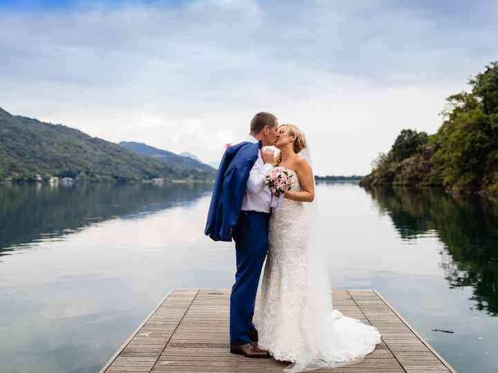 le nozze di Gemma e Ian