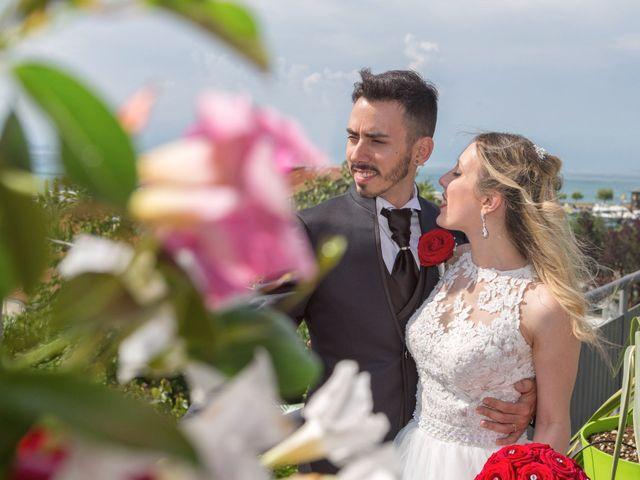 Il matrimonio di Andrea e Jessica a Sona, Verona 14