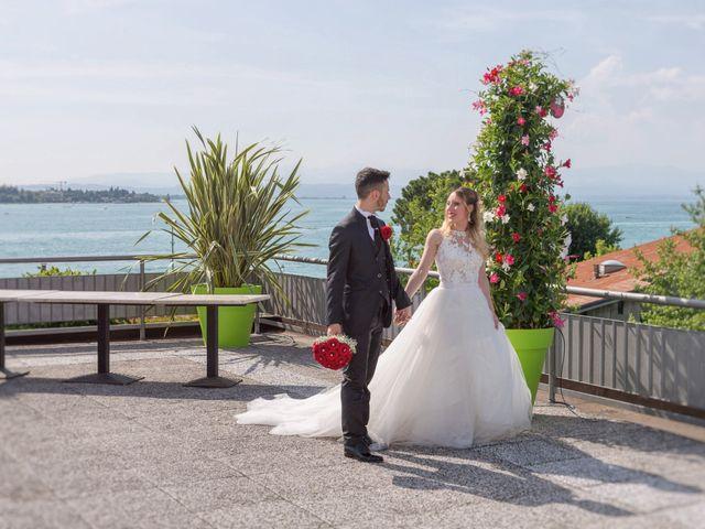 Il matrimonio di Andrea e Jessica a Sona, Verona 16