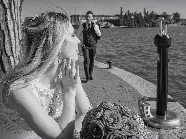 Il matrimonio di Andrea e Jessica a Sona, Verona 20