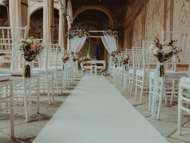 Il matrimonio di Daniele e Giulia a Robecco sul Naviglio, Milano 28