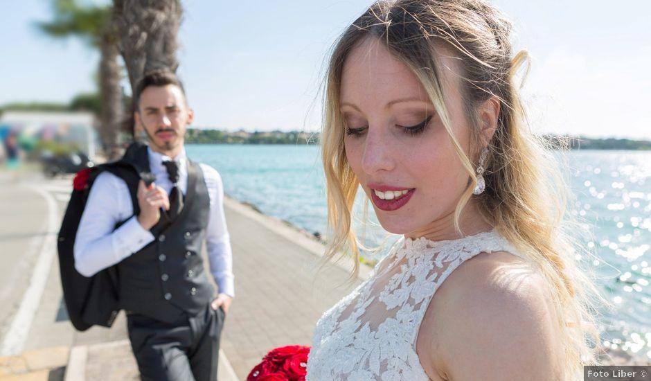 Il matrimonio di Andrea e Jessica a Sona, Verona