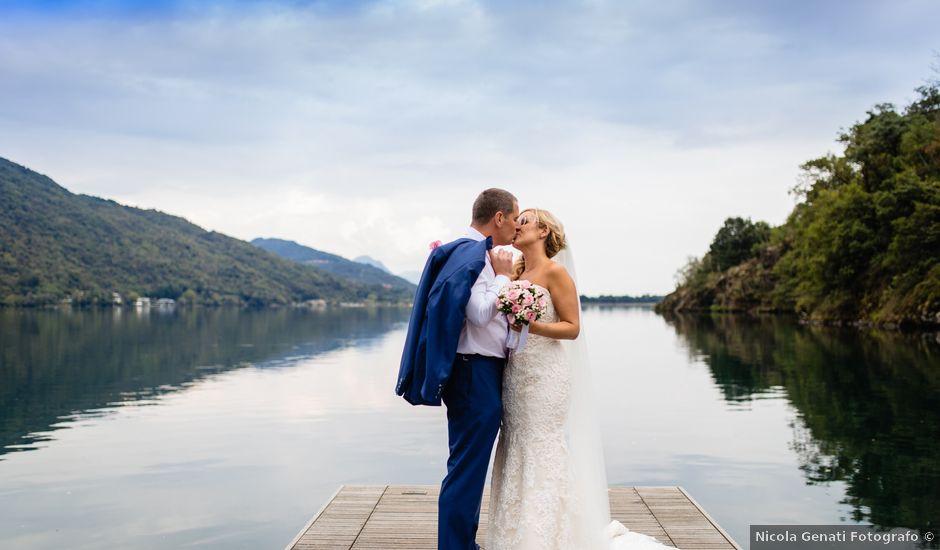Il matrimonio di Ian e Gemma a Verbania, Verbania
