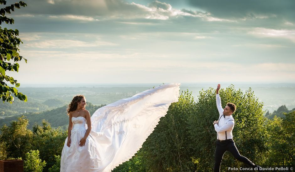Il matrimonio di Ilario e Federica a Albiolo, Como