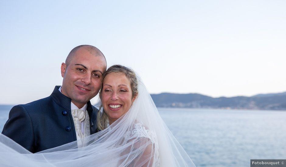 Il matrimonio di Rocco e Silvia a Villanova d'Albenga, Savona