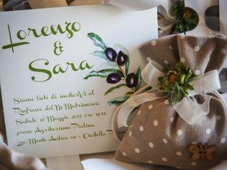 Le nozze di Sara e Lorenzo 1