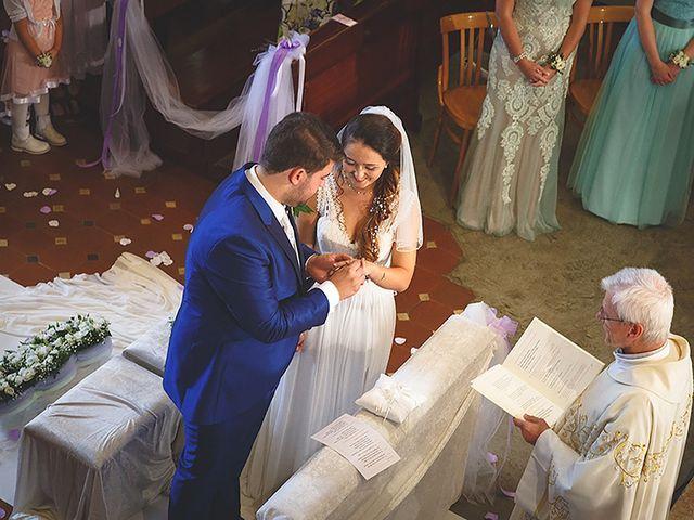 Le nozze di Oriana e Nicolas