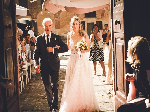 Il matrimonio di Davide e Christine a Sinalunga, Siena 7
