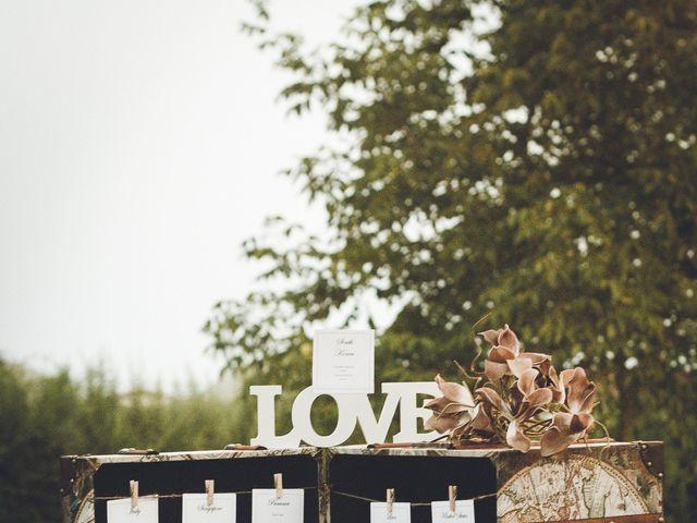 Il matrimonio di Davide e Christine a Sinalunga, Siena 15