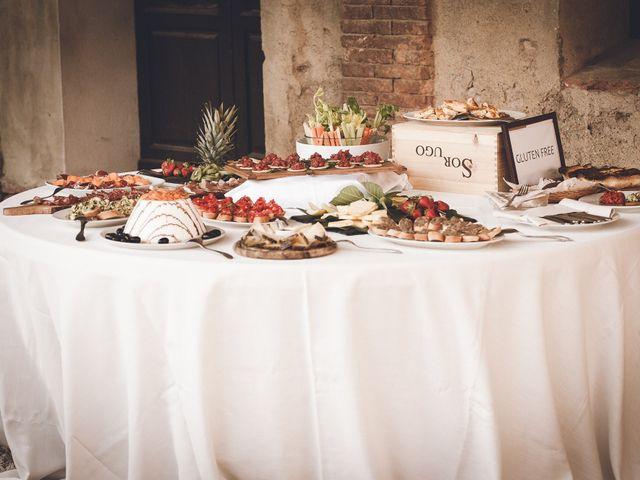 Il matrimonio di Davide e Christine a Sinalunga, Siena 22