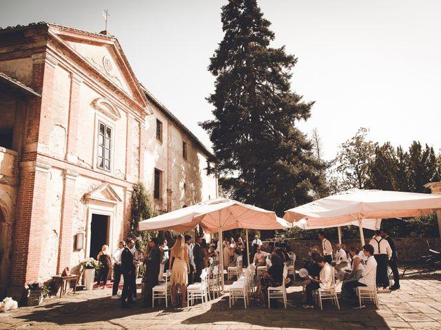 Il matrimonio di Davide e Christine a Sinalunga, Siena 27