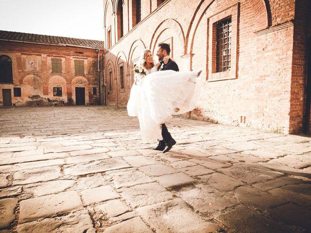 Il matrimonio di Davide e Christine a Sinalunga, Siena 29