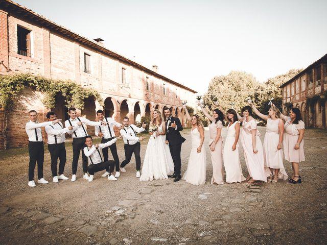 Il matrimonio di Davide e Christine a Sinalunga, Siena 31