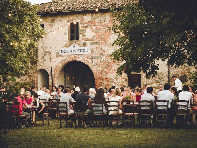 Il matrimonio di Davide e Christine a Sinalunga, Siena 41