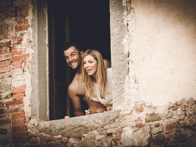 Il matrimonio di Davide e Christine a Sinalunga, Siena 43