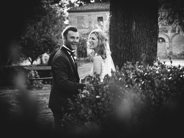 Il matrimonio di Davide e Christine a Sinalunga, Siena 32