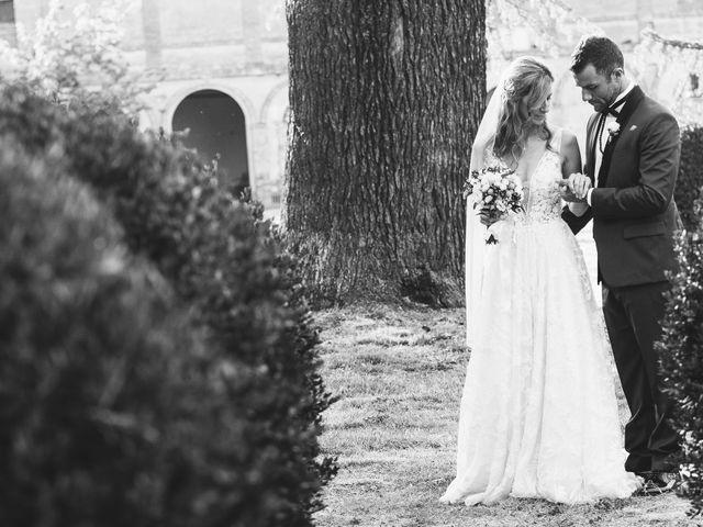 Il matrimonio di Davide e Christine a Sinalunga, Siena 35