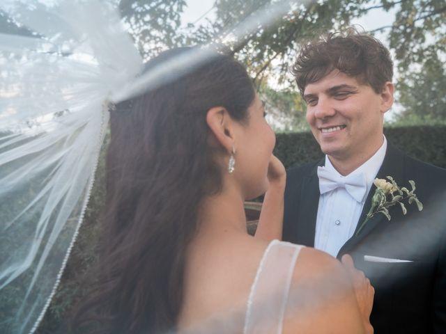Le nozze di Romina e Richard