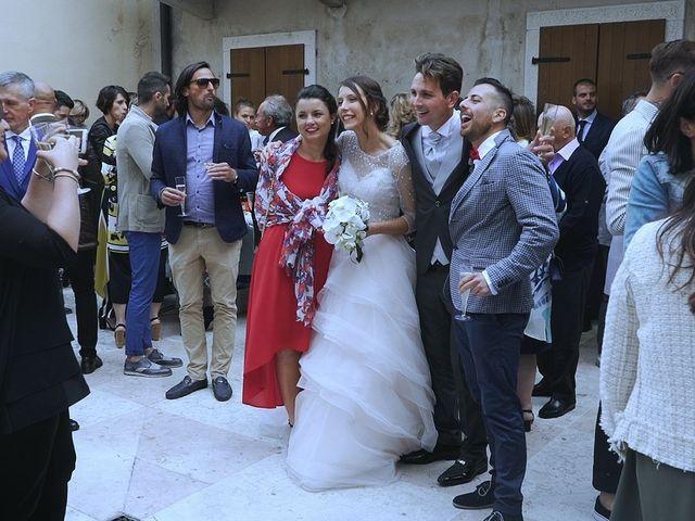 Il matrimonio di Martina e Jhonatan a Rivoli Veronese, Verona 1