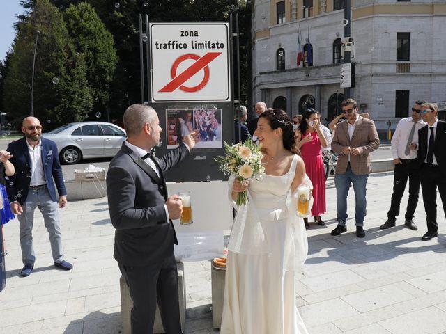 Il matrimonio di Flavia e Mirko a Legnano, Milano 82