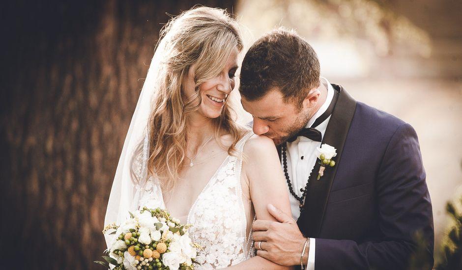 Il matrimonio di Davide e Christine a Sinalunga, Siena