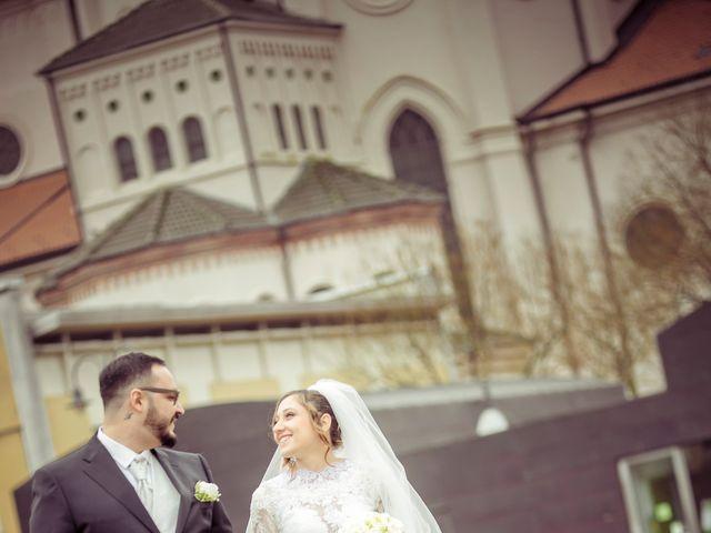 Il matrimonio di Fabrizio e Alessia a Novara, Novara 35