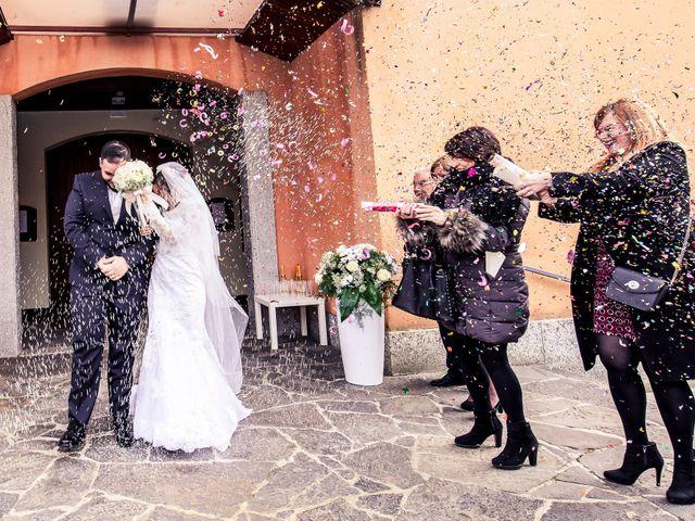 Il matrimonio di Fabrizio e Alessia a Novara, Novara 56
