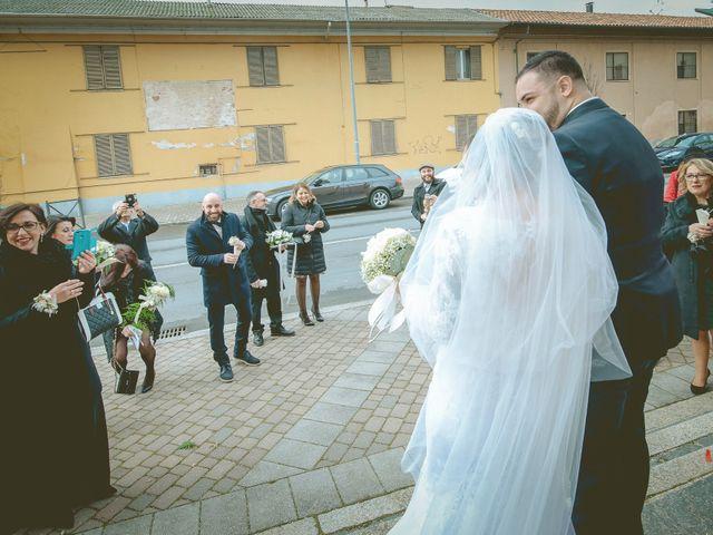 Il matrimonio di Fabrizio e Alessia a Novara, Novara 57