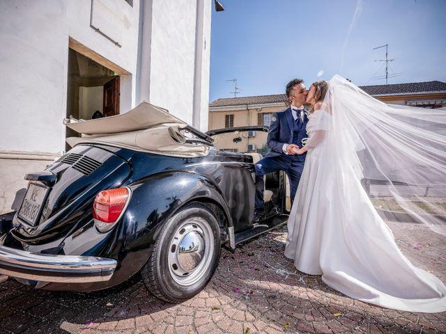 Il matrimonio di Marco e Michela a Granozzo con Monticello, Novara 13