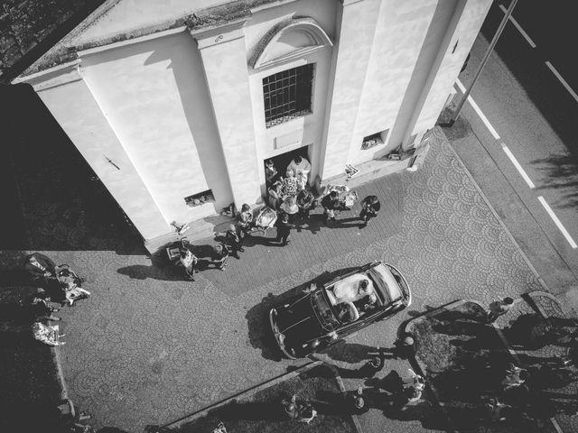 Il matrimonio di Marco e Michela a Granozzo con Monticello, Novara 15