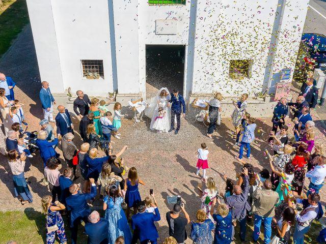 Il matrimonio di Marco e Michela a Granozzo con Monticello, Novara 38