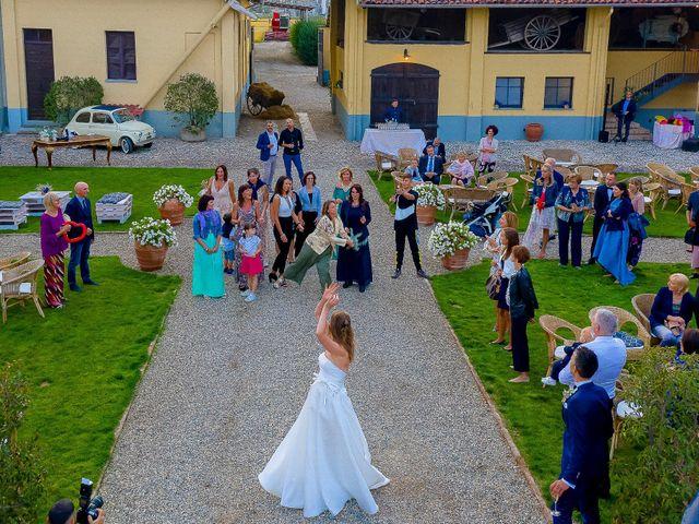 Il matrimonio di Marco e Michela a Granozzo con Monticello, Novara 60