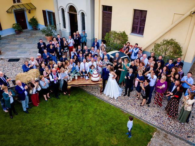Il matrimonio di Marco e Michela a Granozzo con Monticello, Novara 62