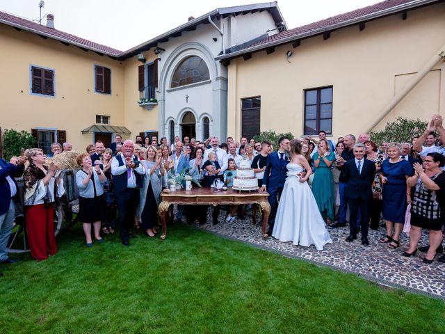 Il matrimonio di Marco e Michela a Granozzo con Monticello, Novara 68