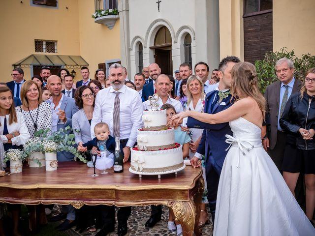 Il matrimonio di Marco e Michela a Granozzo con Monticello, Novara 69