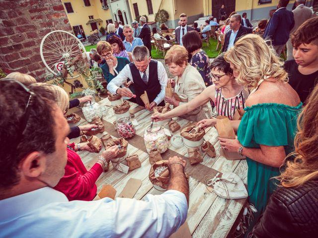 Il matrimonio di Marco e Michela a Granozzo con Monticello, Novara 77