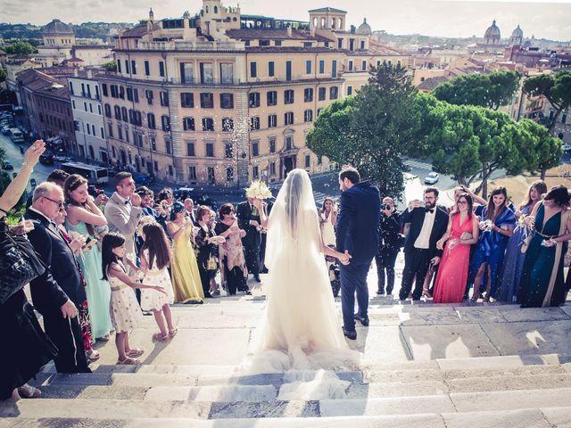 Il matrimonio di Peppe e Sara a Roma, Roma 24