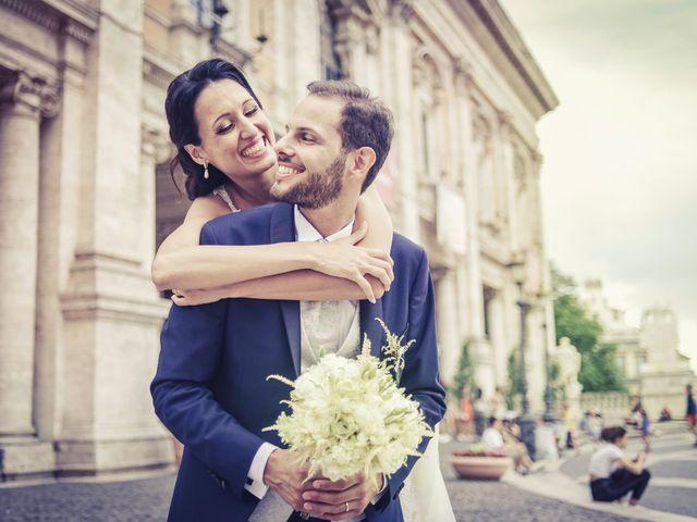 Il matrimonio di Peppe e Sara a Roma, Roma 31
