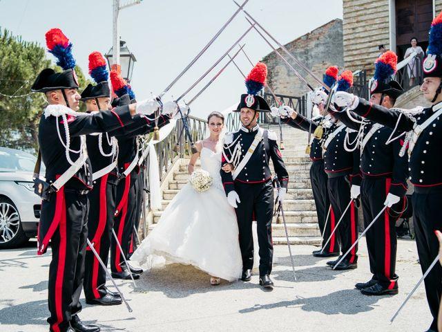 Il matrimonio di Valentina e Alessandro a Miglianico, Chieti 55