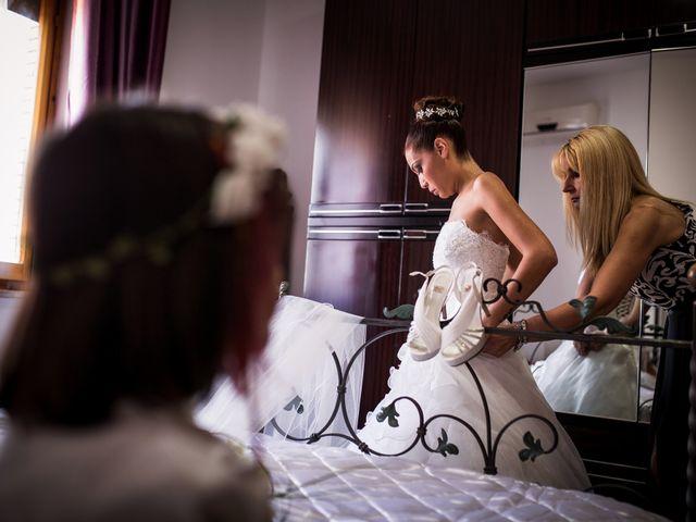 Il matrimonio di Valerio e Veronica a Palombara Sabina, Roma 9