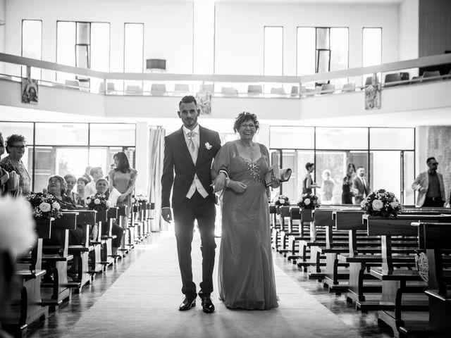 Il matrimonio di Valerio e Veronica a Palombara Sabina, Roma 30