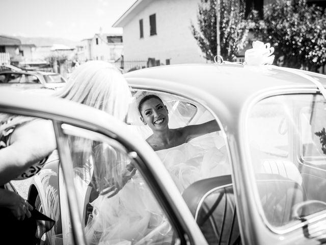Il matrimonio di Valerio e Veronica a Palombara Sabina, Roma 31
