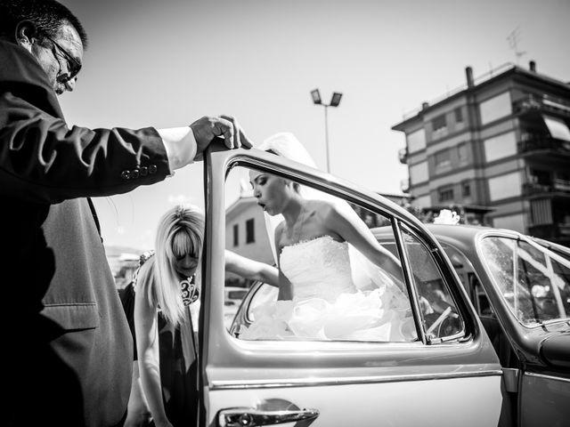 Il matrimonio di Valerio e Veronica a Palombara Sabina, Roma 32