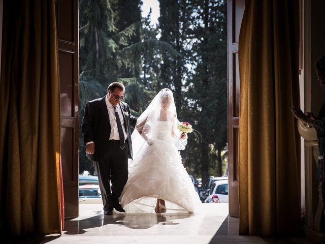 Il matrimonio di Valerio e Veronica a Palombara Sabina, Roma 34