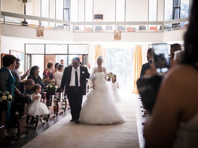 Il matrimonio di Valerio e Veronica a Palombara Sabina, Roma 35