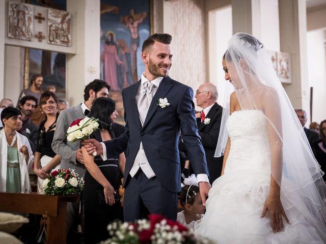 Il matrimonio di Valerio e Veronica a Palombara Sabina, Roma 37