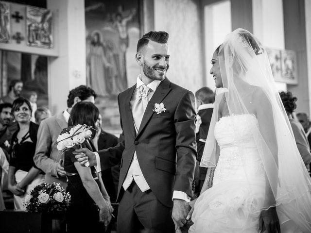 Il matrimonio di Valerio e Veronica a Palombara Sabina, Roma 38