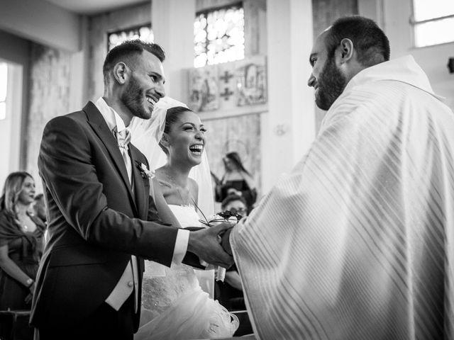 Il matrimonio di Valerio e Veronica a Palombara Sabina, Roma 40