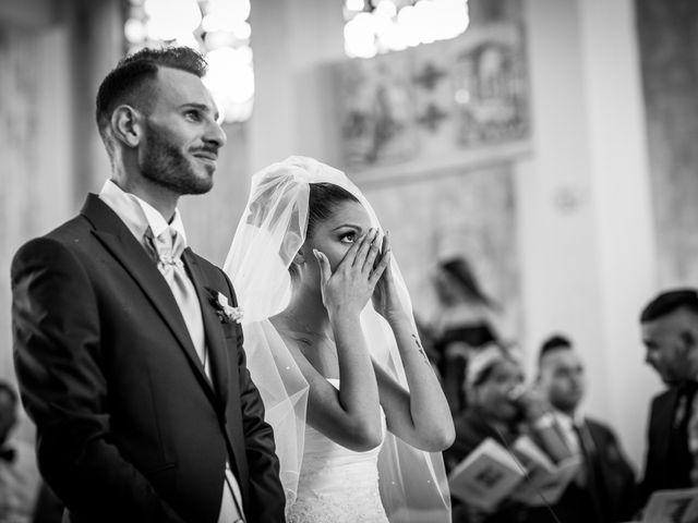 Il matrimonio di Valerio e Veronica a Palombara Sabina, Roma 41